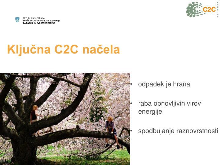 Ključna C2C načela