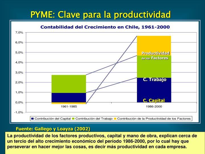 Fuente: Gallego y Loayza (2002)