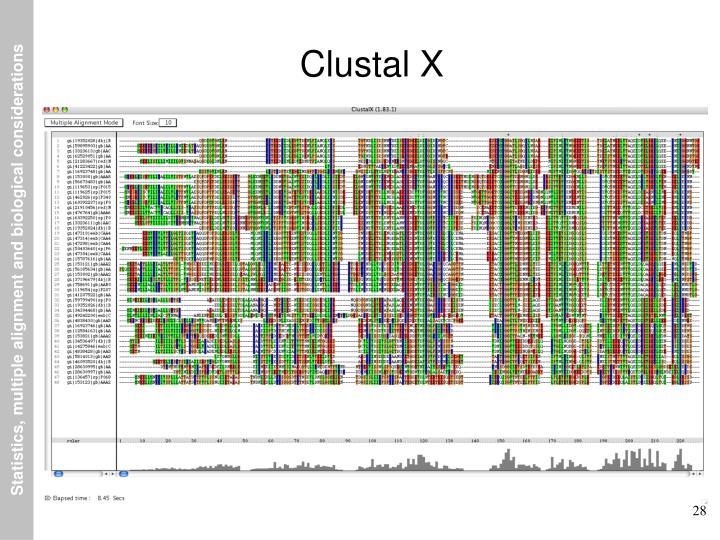 Clustal X