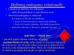 defining endogamy relationally