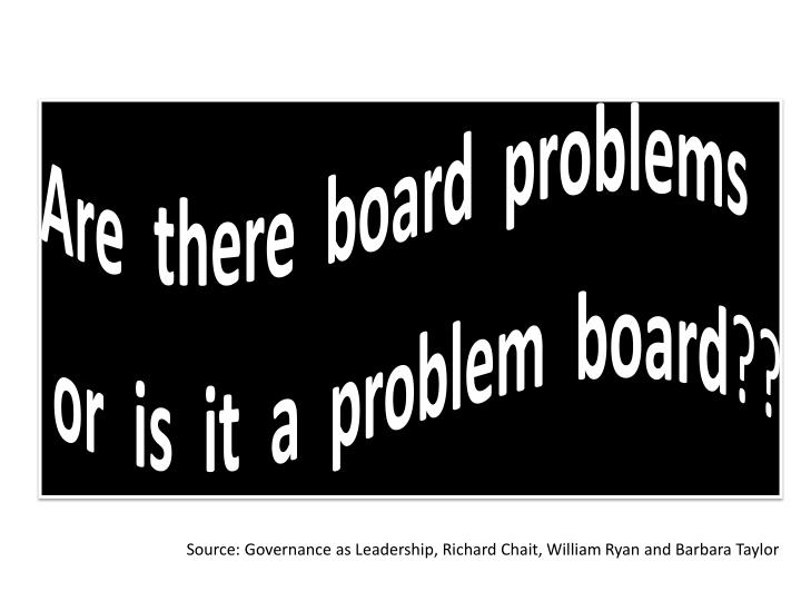 Are  there  board  problems