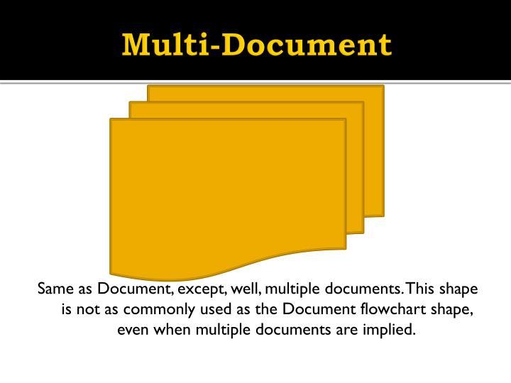 Multi-Document