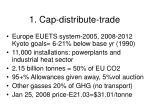 1 cap distribute trade