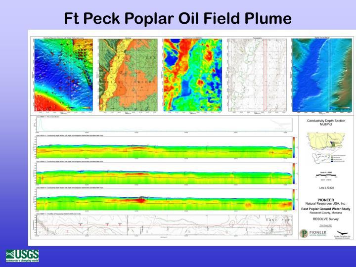 Ft Peck Poplar Oil Field Plume