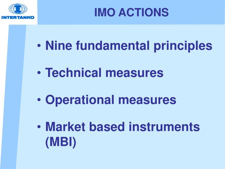 Imo actions