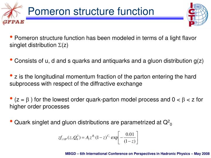 Pomeron structure function