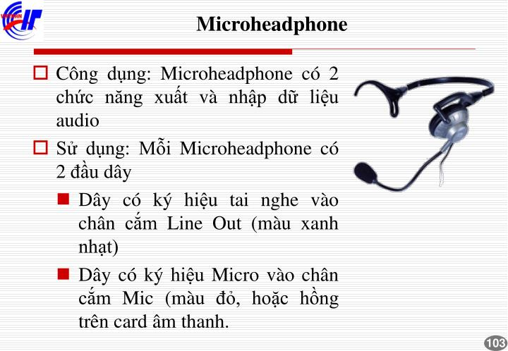 Microheadphone