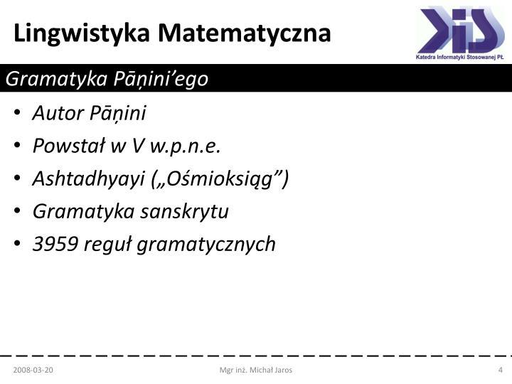 Gramatyka Pā