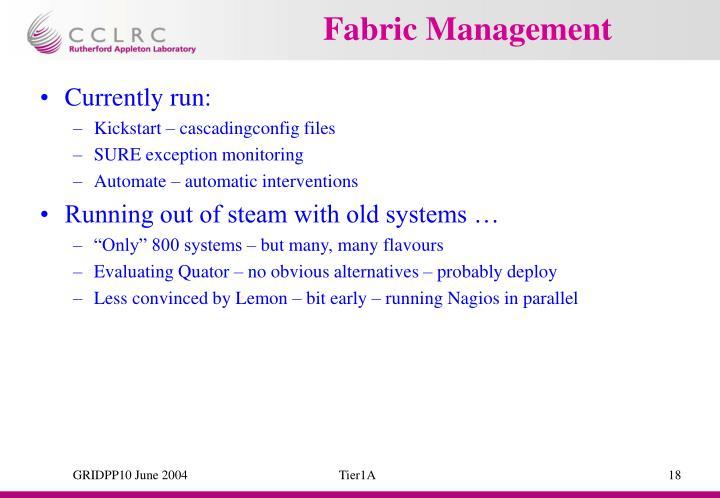 Fabric Management