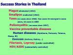 success stories in thailand