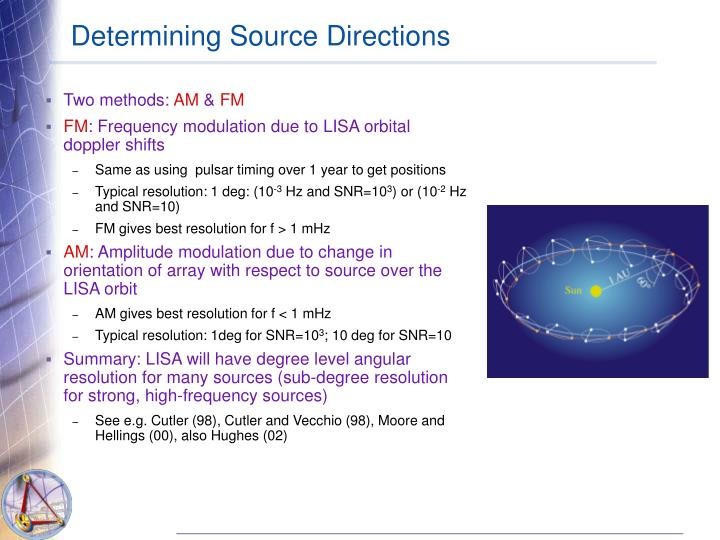 Determining Source Directions