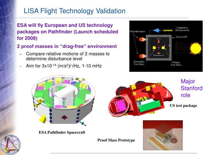 LISA Flight Technology Validation