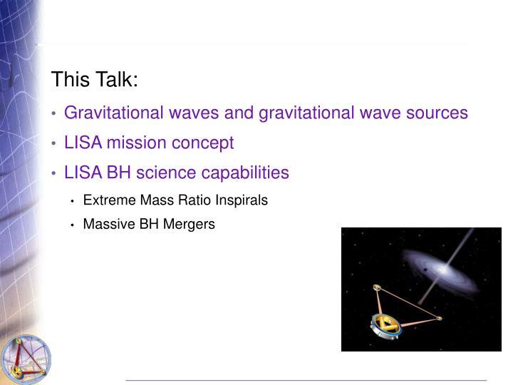 This Talk: