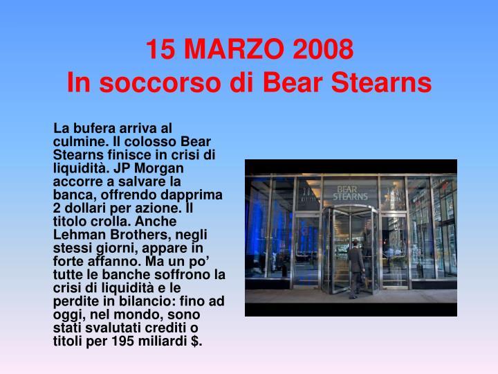 15 MARZO 2008