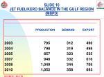 slide 10 jet fuel kero balance in the gulf region mbpd
