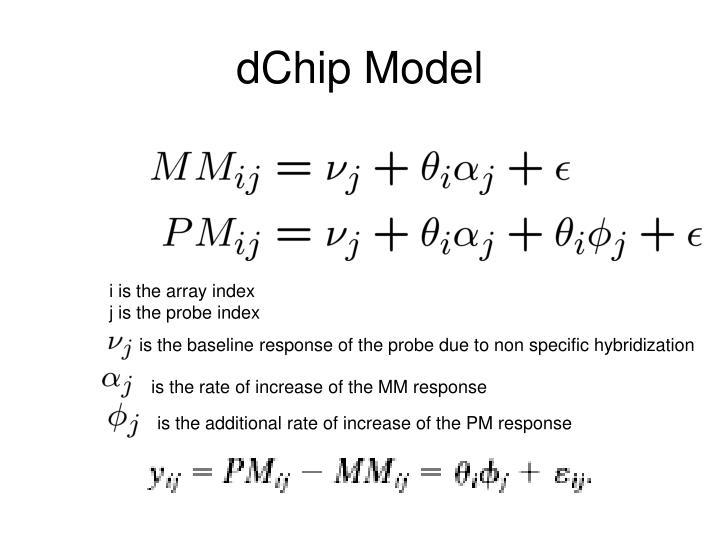 dChip Model