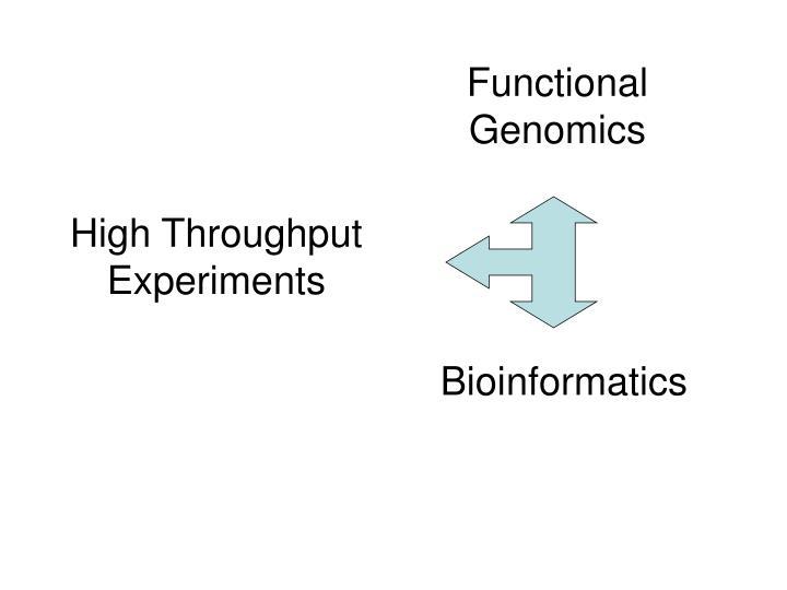 High throughput experiments