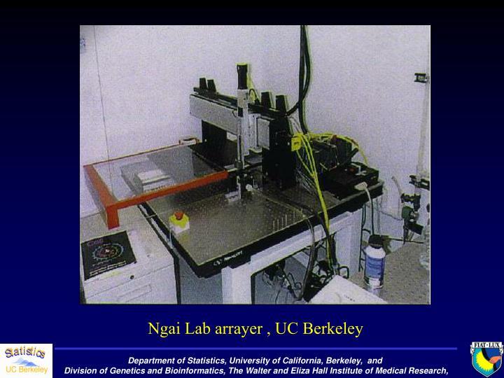 Ngai Lab arrayer , UC Berkeley