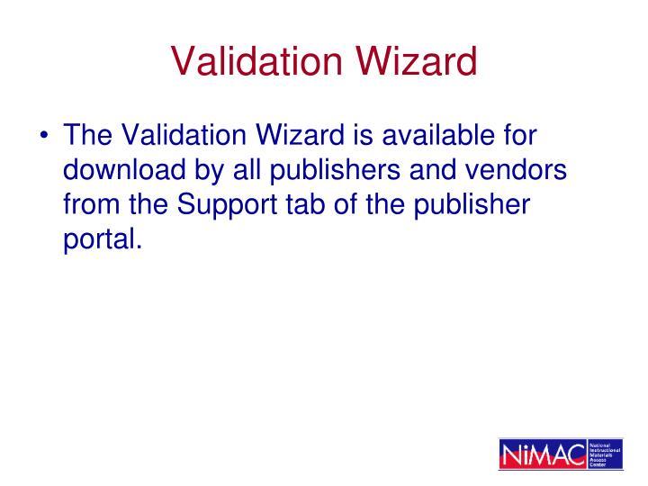 Validation Wizard