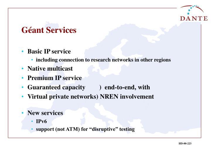 Géant Services