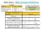 m m c basics mms template hcm540 xls