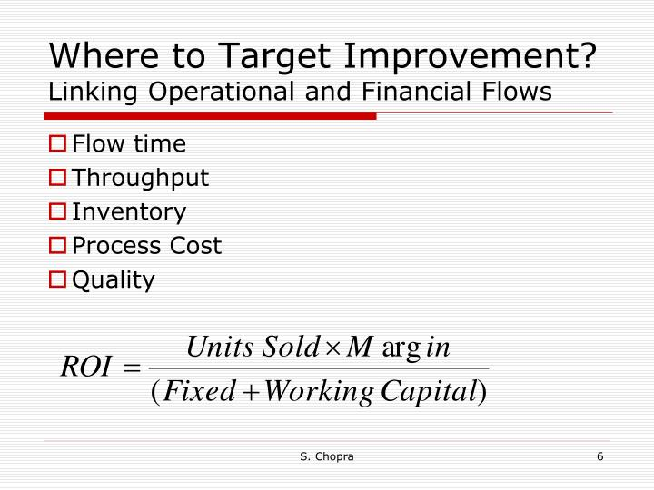 Where to Target Improvement?