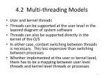 4 2 multi threading models