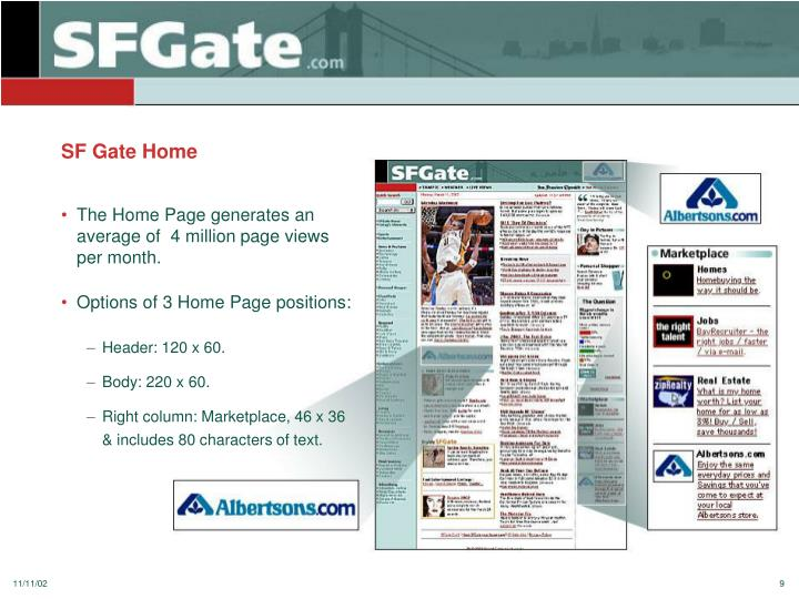 SF Gate Home