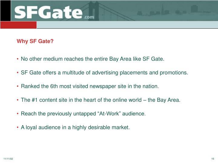 Why SF Gate?
