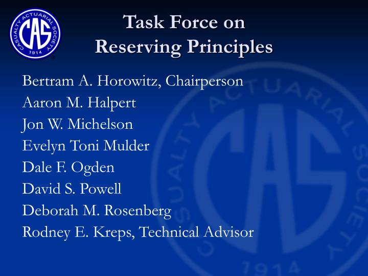 Task Force on