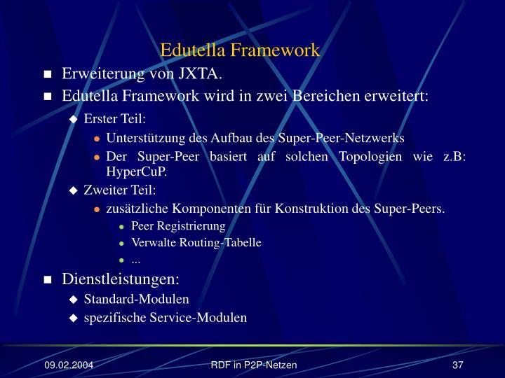 Edutella Framework