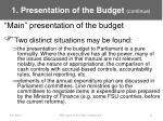 1 presentation of the budget continue10