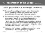 1 presentation of the budget continue12
