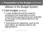 1 presentation of the budget continue2