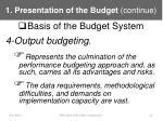 1 presentation of the budget continue6