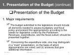 1 presentation of the budget continue8