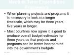 medium term expenditure framework