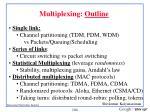 multiplexing outline