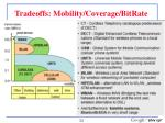 tradeoffs mobility coverage bitrate