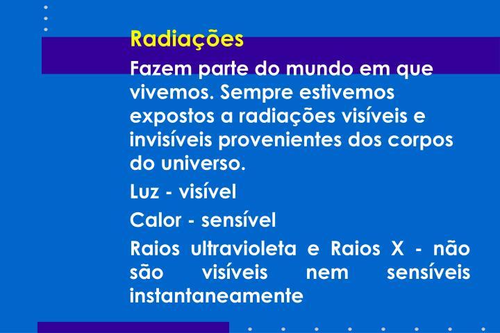 Radiações