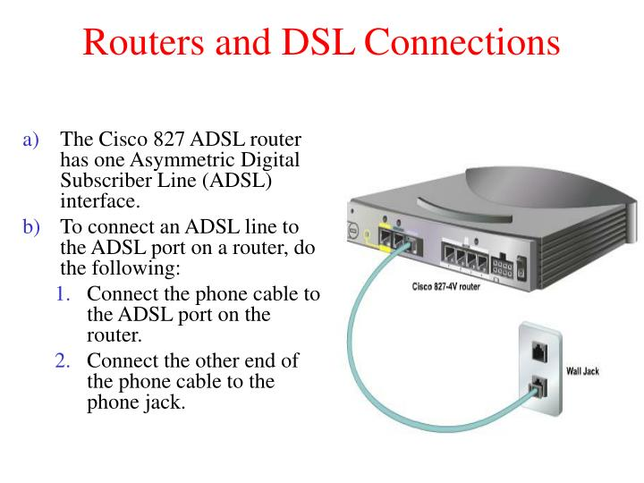 Routers and DSL Connections