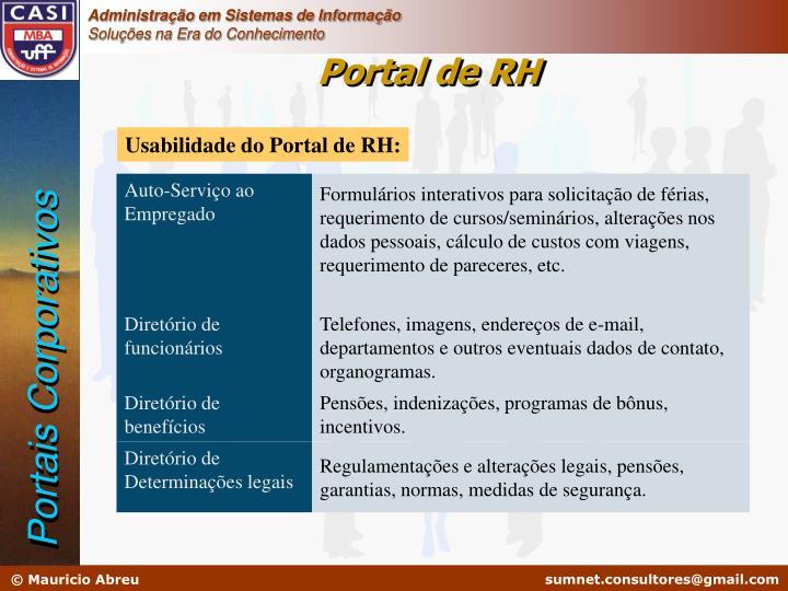 Portal de RH