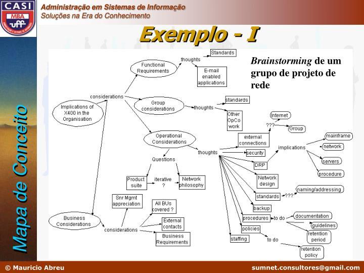Exemplo - I