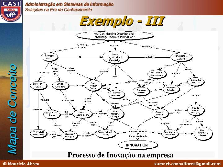 Exemplo - III