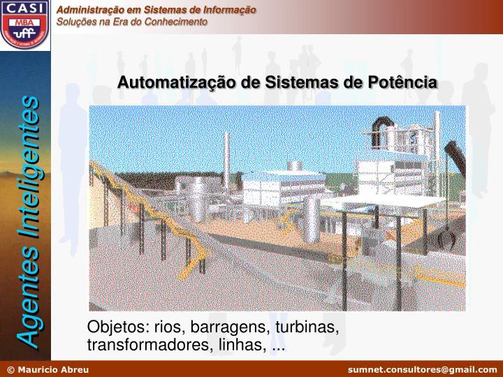 Automatização de Sistemas de Potência