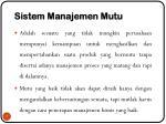 sistem manajemen mutu1