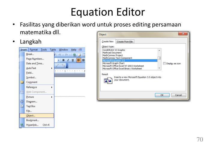 Equation Editor