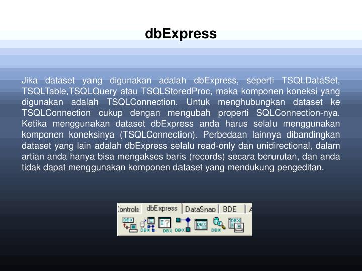 dbExpress