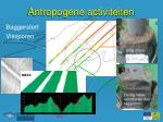 antropogene activiteiten