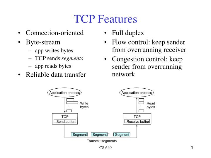 Tcp features